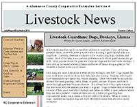 Alamance Livestock News